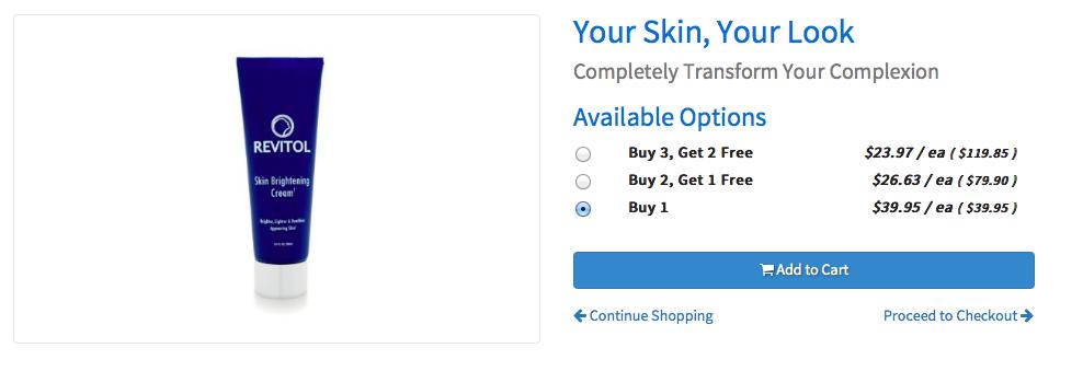 Skin Brightener Cream CPA: Skin Care Affiliate Offer