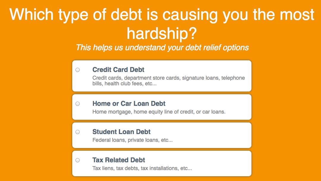 Debt Direction: Debt Consolidation Affiliate Offer